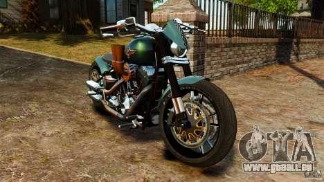 Harley Davidson Fat Boy Lo Racing Bobber für GTA 4