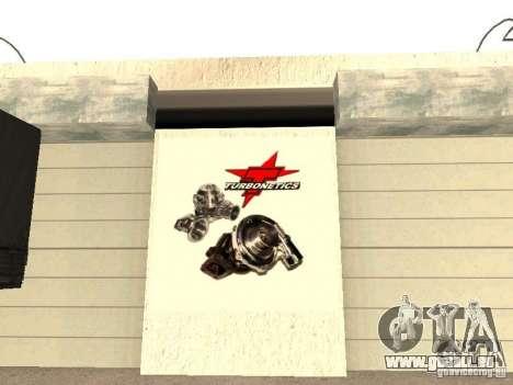 Garage de la GRC en fo pour GTA San Andreas septième écran