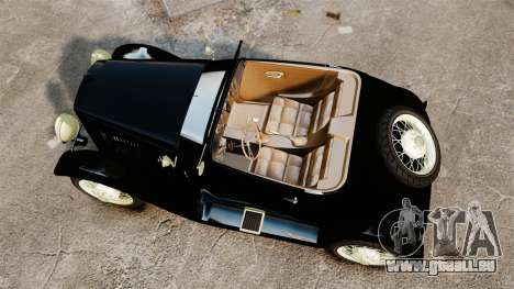 Ford Model T Sabre 1924 pour GTA 4 est un droit