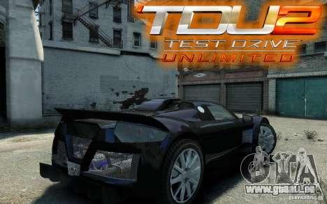 Gumpert Apollo Sport pour GTA 4 est un droit