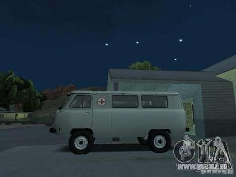 UAZ 451A pour GTA San Andreas laissé vue