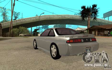 Nissan 200SX - Stock pour GTA San Andreas sur la vue arrière gauche