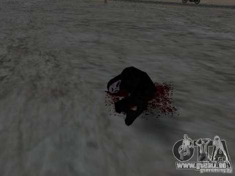 Durch einen Schuss verletzt für GTA San Andreas her Screenshot