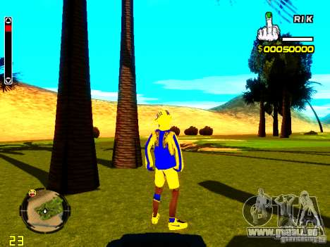Peau bum v2 pour GTA San Andreas troisième écran