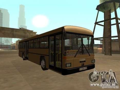 Man 202 pour GTA San Andreas laissé vue