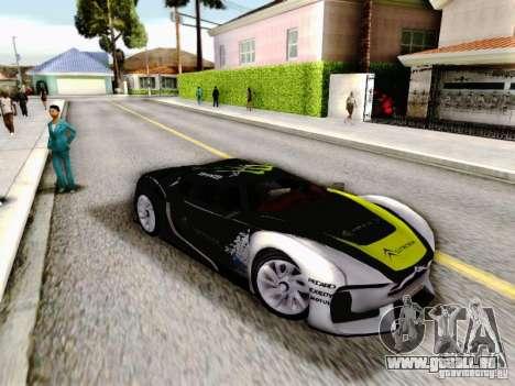 Citroen GT Gymkhana pour GTA San Andreas vue de droite