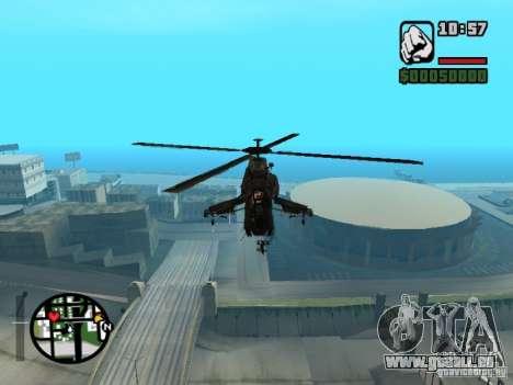 HL 2 VERT v1 pour GTA San Andreas sur la vue arrière gauche