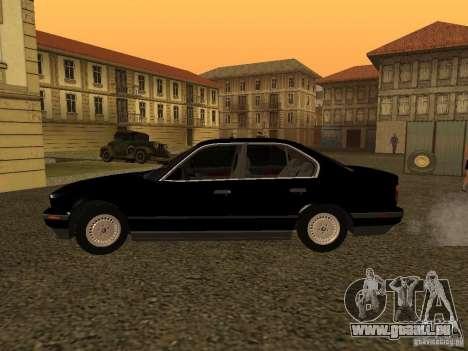 BMW 535i für GTA San Andreas linke Ansicht