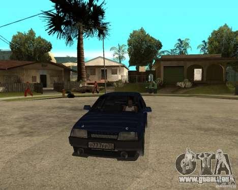 VAZ 21099 Tuning par Danil pour GTA San Andreas vue arrière