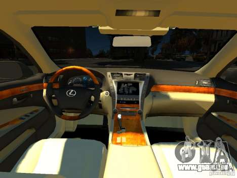 Lexus LS600 V2.0 für GTA 4 Rückansicht