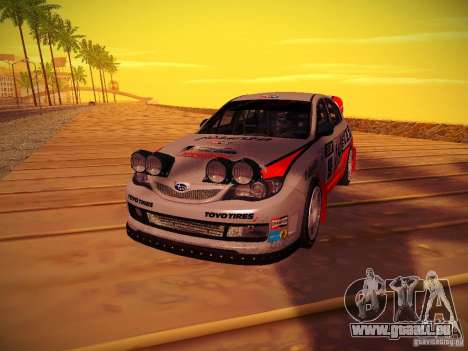 Subaru Impreza WRX STi N14 Rallycross pour GTA San Andreas vue de droite