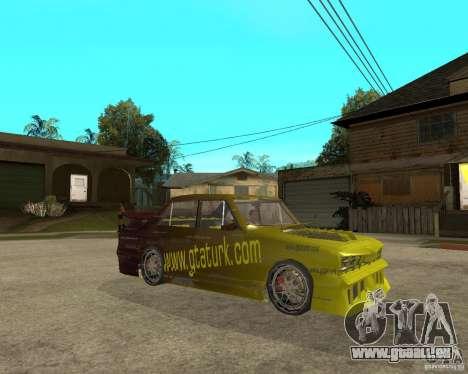 Anadol GtaTurk Drift Car pour GTA San Andreas vue de droite