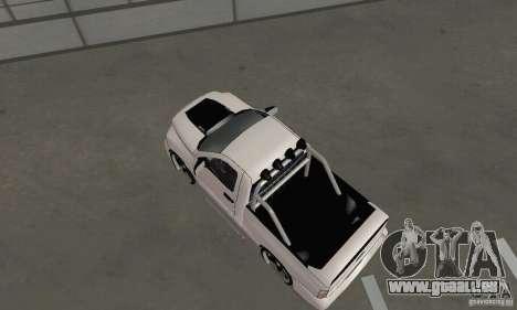 Dodge Ram SRT-10 Tuning pour GTA San Andreas sur la vue arrière gauche