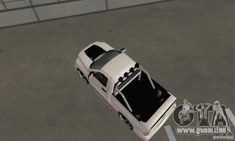 Dodge Ram SRT-10 Tuning für GTA San Andreas zurück linke Ansicht