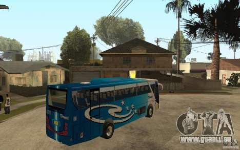 Hino New Travego V.Damri für GTA San Andreas rechten Ansicht