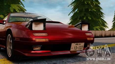 Mazda Savanna RX-7 pour GTA 4 Vue arrière