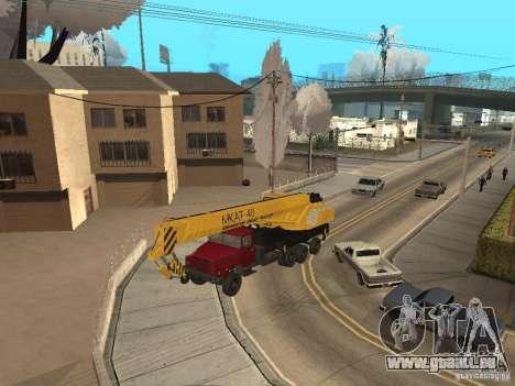 MKAT-40 issu de Kraz-250 pour GTA San Andreas laissé vue