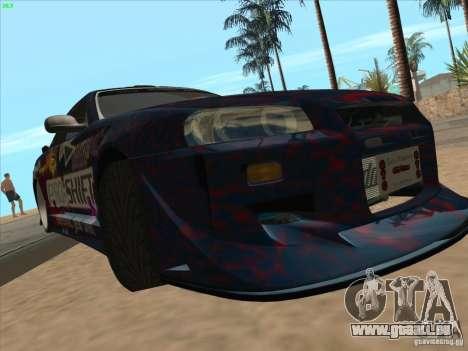 Nissan Skyline R34 VeilSide pour GTA San Andreas vue de côté
