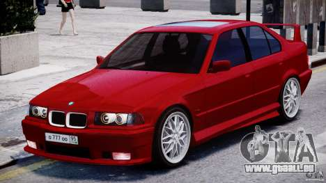 BMW 318i Light Tuning v1.1 für GTA 4 linke Ansicht