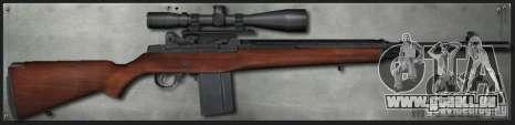 M14 Sniper für GTA San Andreas