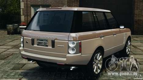 Range Rover Supercharged 2008 pour GTA 4 Vue arrière de la gauche