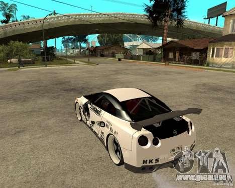 Nissan Skyline R35 für GTA San Andreas linke Ansicht