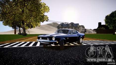 Ford Shelby GT500 KR 1968 pour GTA 4