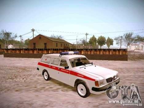GAZ 310231 Urgent pour GTA San Andreas vue de droite