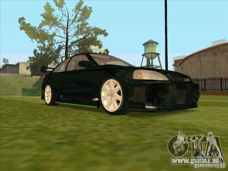 Honda Civic Coupe 1995 from FnF 1 für GTA San Andreas Seitenansicht