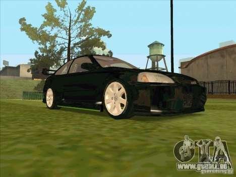 Honda Civic Coupe 1995 from FnF 1 pour GTA San Andreas vue de côté
