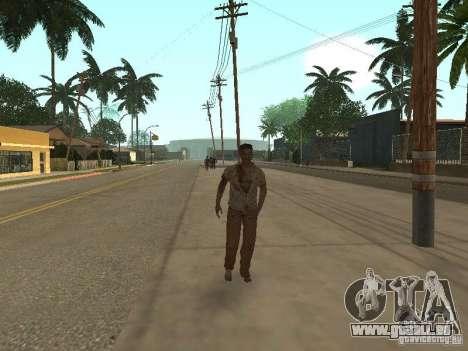 Zombie pour GTA San Andreas deuxième écran