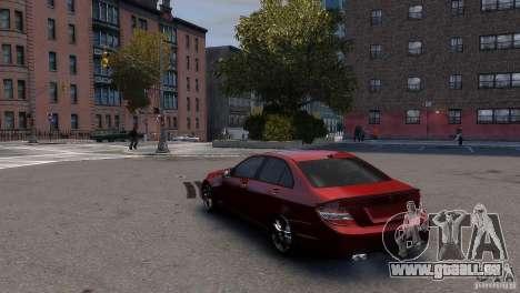 Mercedes-Benz C-Class Brabus pour GTA 4 est un droit
