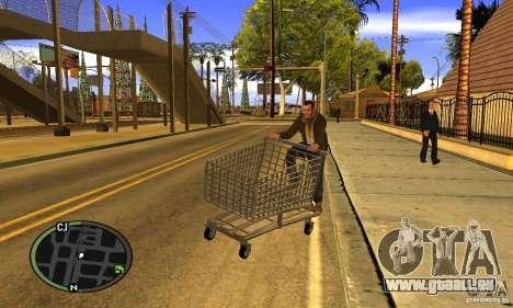 Shopping Cart Faggio V2 pour GTA San Andreas