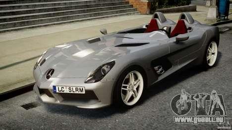 Mercedes-Benz SLR McLaren Stirling Moss [EPM] für GTA 4 Rückansicht