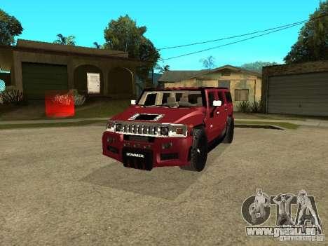 Hummer H2 Tuning pour GTA San Andreas