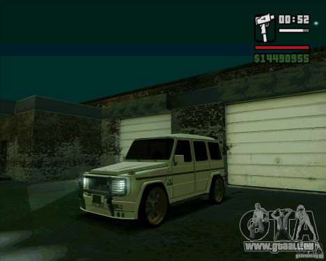 Mercedes Benz G500 Dub Edition für GTA San Andreas linke Ansicht