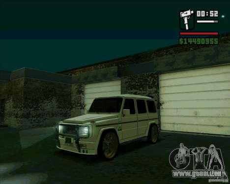 Mercedes Benz G500 Dub Edition für GTA San Andreas linke Ansicht