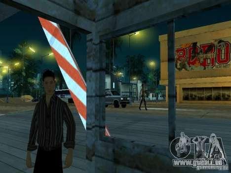 Faites glisser la route v 2.0 finale pour GTA San Andreas quatrième écran