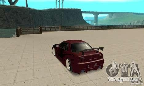 Nissan Skyline R32 Drift Edition für GTA San Andreas zurück linke Ansicht