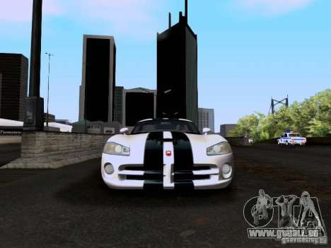 Dodge Viper SRT-10 Custom für GTA San Andreas Seitenansicht