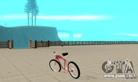 Classic Bike für GTA San Andreas zurück linke Ansicht