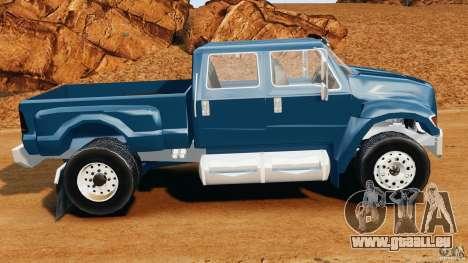 Ford F-650 XLT Superduty für GTA 4 linke Ansicht