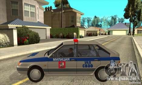 ВАЗ 2114-DPS für GTA San Andreas linke Ansicht