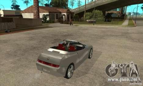 Alfa Romeo Spyder für GTA San Andreas rechten Ansicht