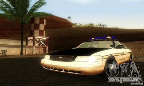 Ford Crown Victoria Tennessee Police pour GTA San Andreas