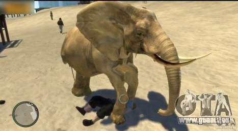 Elefant für GTA 4