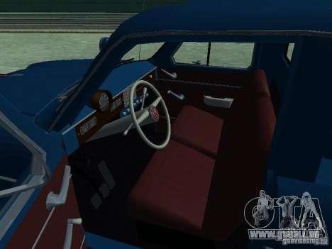 Moskvich 430 Pickup Aeroflot für GTA San Andreas Rückansicht