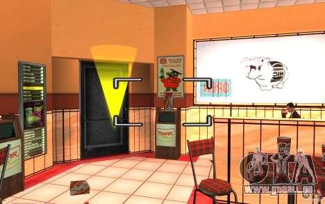 Pumper Nic Mod pour GTA San Andreas quatrième écran
