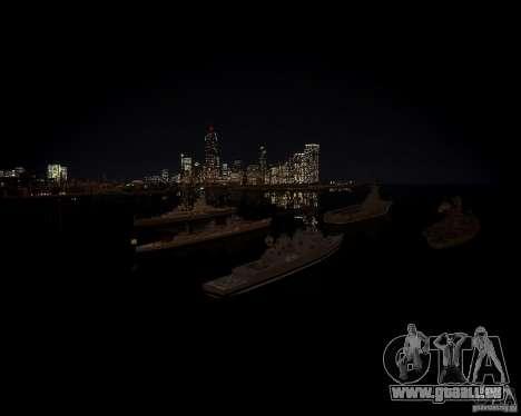 Marine pour GTA 4 cinquième écran