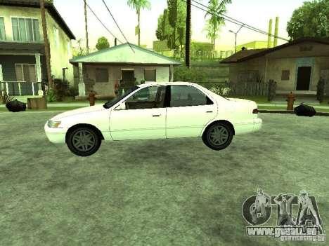 Toyota Camry 2.2 LE pour GTA San Andreas laissé vue